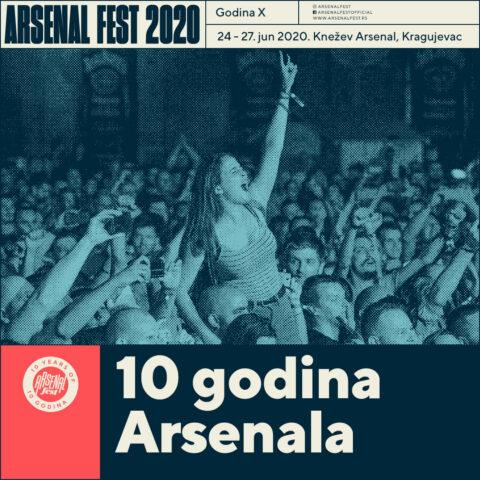 Poruka o održavanju Arsenala X