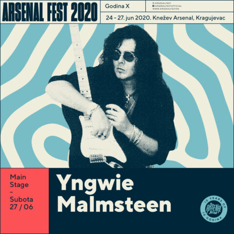Gogol Bordello, Yngwie Malmsteen i Inner Circle na Arsenalu X!