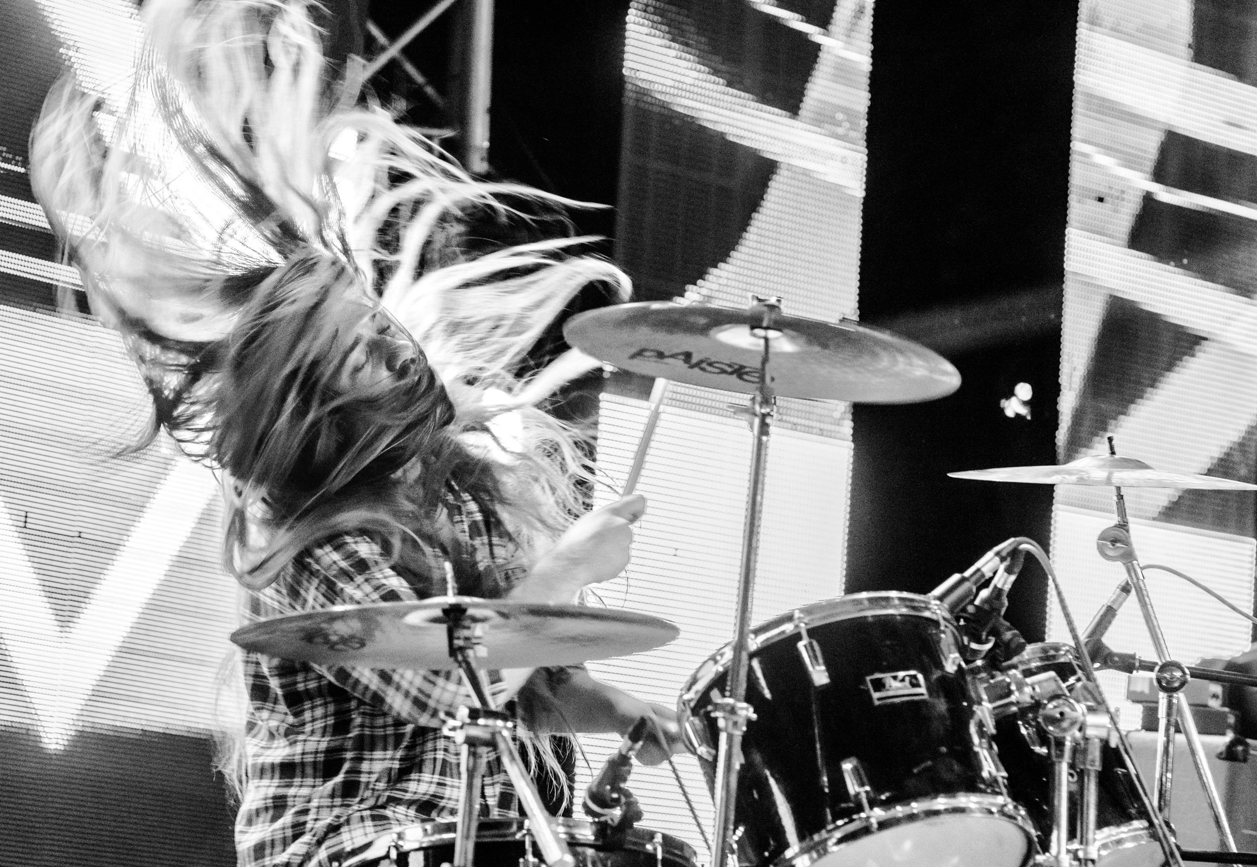 Beating Drum is a heart – Postavka rok fotografija Nemanje Đorđevića