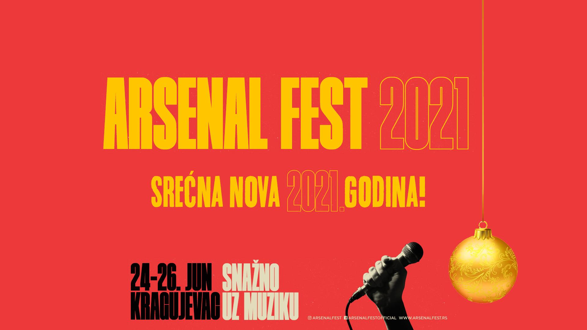 Srećna vam Arsenal 2021 godina!